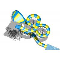 Wholesale Magic Flying Blanket Fiberglass Water Slides Platform 20m For Theme Park Project from china suppliers