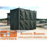 Wholesale Temporary Sound Barriers Fence Covered with Noise Blanket from china suppliers