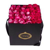 Wholesale Luxury style valentine's day Soild Coated Paperboard Box for Flower Packaging from china suppliers