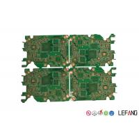 Wholesale Green Automotive FM Radio RF Circuit Board , 6 Layers Perforated PCB Board  from china suppliers