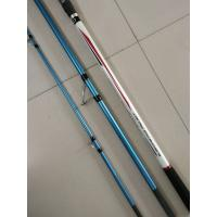 Buy cheap 4.20m 3 section Surf casting Carbon Fishing rods,Trabucco surf casting rods from wholesalers