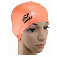 Quality Adult Swim Cap Avoid Stick Hair Cap Silicone Swimming Women Lady Cap for sale