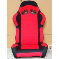 Wholesale Black And Red Sport Racing Seats Universal Cars Parts Foldable With Safety Belts from china suppliers