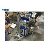 Wholesale Optical 30W 50W Portable Mini Fiber Laser Marker Machine High Accuracy 0.01mm from china suppliers