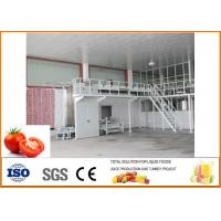 Tomato Canned Rice Production Line 15-20 Cans / Minute Cans CFM-B-06-6000 for sale