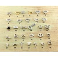 Stainless Steel Locket Charms Sterling Silver Charms for sale