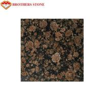Wholesale Brown Color Flamed Granite Stone Slab Good Compressive Strength from china suppliers
