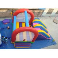 Quality Combo Commercial Inflatable Slide , Inflatable Bouncer Slide For Playing for sale