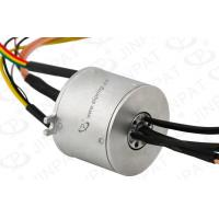 Wholesale IP51 20 Circuits Through Bore Slip Ring Transmitting Current / Signal With φ80mm Hole from china suppliers
