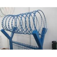 China Various BTO CBT Types Razor Barbed Wire With Single / Cross Coil on sale