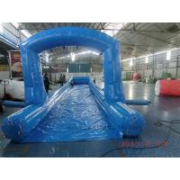 Wholesale Comercial Blue City Street Event Giant Inflatable Slide With Singel Lane from china suppliers
