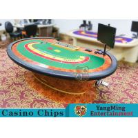 Wholesale Multi-functional Macau Galaxy Luxury Poker Table With Three Printed Table Cloths from china suppliers