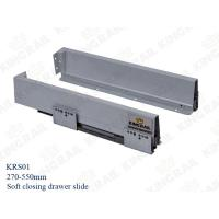 Wholesale Kitchen Drawer Slide With Soft Closing Drawer Runner slide for cabinet KRS02 from china suppliers