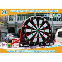 Wholesale Attrative Design Commercial Giant Inflatable Sport Games , Double Sides Inflatable Soccer Darts Board from china suppliers