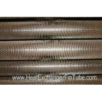 Wholesale U Bent Welded Spiral Evaporator Tube , SA210 Gr. C SMLS Carbon Steel Tube from china suppliers