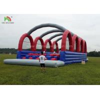 China Outside Inflatable Adult Sports Games Of 5k Races Run For Amusement Park on sale