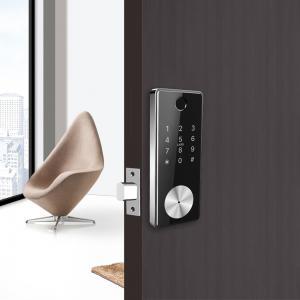 China Remote Control Card Code Door Lock Safe Smart Bluetooth WIFI Auto Deadbolt on sale