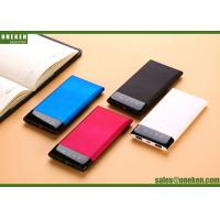 Wholesale OEM 6000mAh Super Slim Portable Power Bank High Capacity Power Bank from china suppliers