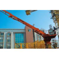 Wholesale Hydraulic Stationary Concrete Placing Boom 2.3t Counterweight 360 Degree Slewing Range from china suppliers