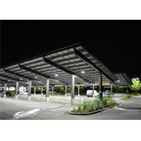 Quality Customized PV Carport Solar Systems Mounting Bracket Open Ground Anti - for sale