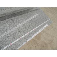 China Silver Grey G603 Granite Polished Small Slabs Popular Grey Granite G603 Tile Flooring Wall Cladding polished price for sale