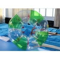 Wholesale Colorful stripe  Inflatable Bumper Ball Football Sports , Bubble Soccer Ball With  CE from china suppliers