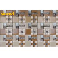 Wholesale Anti - Pressure Square Glass And Metal Mosaic Tile For Swimming Pools from china suppliers