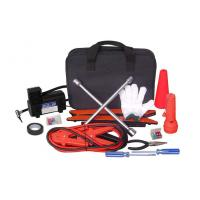Wholesale Roadside Auto Emergency Tool Kit 19pcs with Air Compressor 250PSI from china suppliers