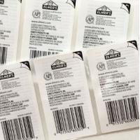 Wholesale Plastic Peel Off Sticker Labels , Various Self Adhesive Removable Labels from china suppliers