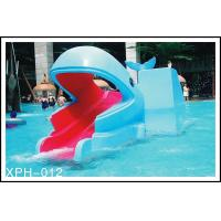 Wholesale Outside Water Pool Slides Water Park Whales Cartoon Shape Kids Pool Water Slides for Kids Water Park from china suppliers