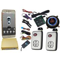 Buy cheap Smartphone Controlled GSM Car Alarm System With Remote Start Phone App from Wholesalers