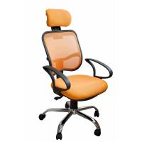 Wholesale Orange Fabric Home Office Computer Chair Ergonomic Back Comfortable For Whole Day Work from china suppliers
