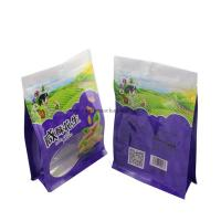 China Snack Custom Packaging Bags Plastic Aluminum Foil Materual With Square Bottom for sale