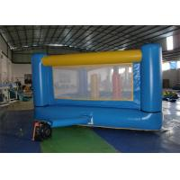 Quality Blue Color Inflatable Bouncer , Mini Inflatable Body Bouncers For Kid for sale