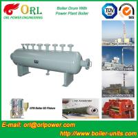 Wholesale High Pressure Vacuum Boiler Mud Drum For Heating Industry SGS Standard from china suppliers