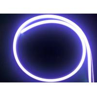 China 10 x 20MM Silicone IP67 Neon Flex Strip Light , Flat Cover 2835 SMD LED Neon Light on sale