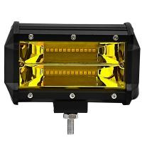China 5Inch Waterproof IP68 72W Yellow color vehicle auto led car working lights for sale