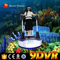 China Video Game White 9d VR Cinema Standing Up 9D Action Cinema 360 Degree 200kg on sale