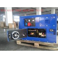 Silent Type Standby Power Generator , 10KVA Quiet Running Generators With OEM / ISO Certificate for sale