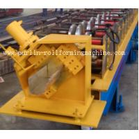 Wholesale Half-round Seamless Gutter Roll Forming Machine High Speed Chain Transmission 16 Stations from china suppliers