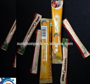 Quality 1 - 80ML 220V Sachet Packing Machine / Sugar Stick Packing Machine for sale