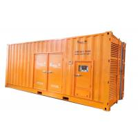 50Hz 680 KW 3 Phase Diesel Generator 4 Wires With 10 Turbocharger for sale