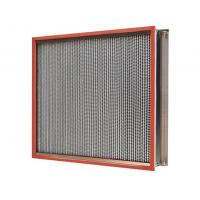Wholesale Heat-Resistant Clean Room HEPA Filters , HEPA Air Filter 450Pa Final Pressure Drop from china suppliers