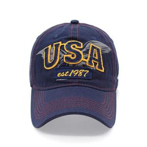 Wholesale Customize Six Panels Embroidered Baseball Caps 54Cm For Kids from china suppliers