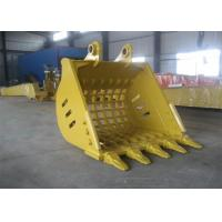Wholesale Yellow Hyundai R360 Backhoe Rock Bucket Excavator Ditching Bucket 1.7m³ Capacity from china suppliers