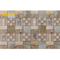 Wholesale Irregular Indoor stainless steel Glass Mosaic Tile With 6mm Thickness from china suppliers