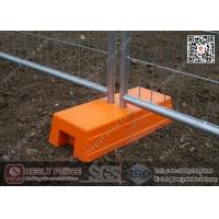 Wholesale Orange Color Injection Mould Plastic Temporary Fencing Feet | China Temp Fence Feet Supplier from china suppliers