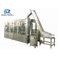 China Stainless Steel Milk Glass Bottle Packing Machine 3000-4000 Bottles Per Hour on sale