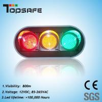 "Wholesale 200mm (8"") LED Traffic Signal with 3 Full Balls (TP-JD200-3-203) from china suppliers"