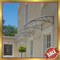Buy cheap excellent waterproofing house home sunshade door window diy polycarbonate pc awning canopy canopies shelter cover shield from wholesalers